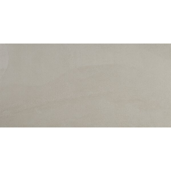 Slate Attaché 12 x 24 Porcelain Field Tile in Meta Light Gray by Daltile