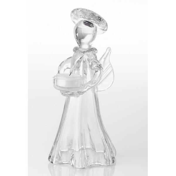 Angel Glass Tealight by Abigails