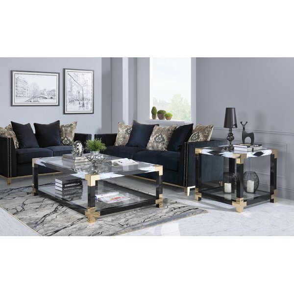 Hymel 2 Piece Coffee Table Set by Mercer41 Mercer41