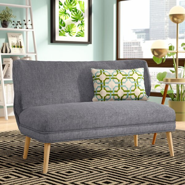 Raleigh Fabric Settee by Langley Street