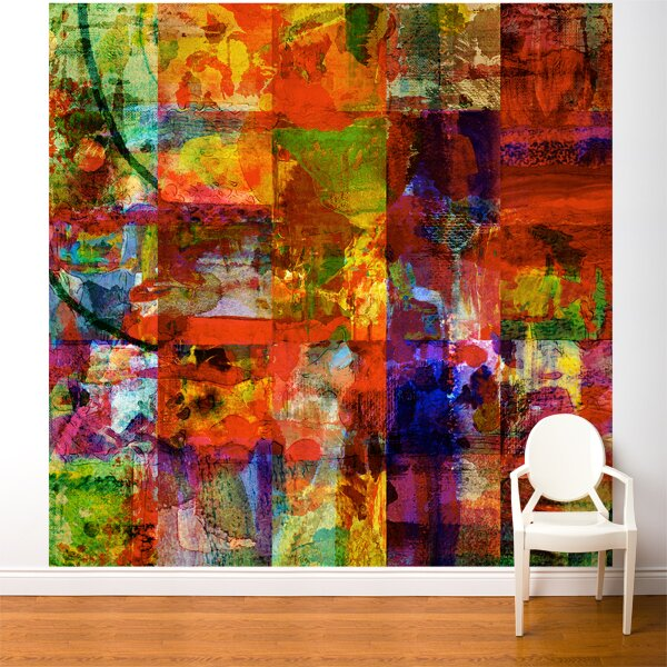 Fresk Abstract Art Wall Mural by ADZif