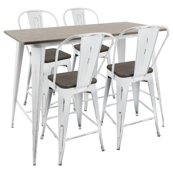 Claremont 5 Piece Dining Set by Union Rustic