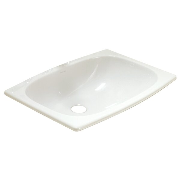 Stinson Ceramic Rectangular Drop-In Bathroom Sink