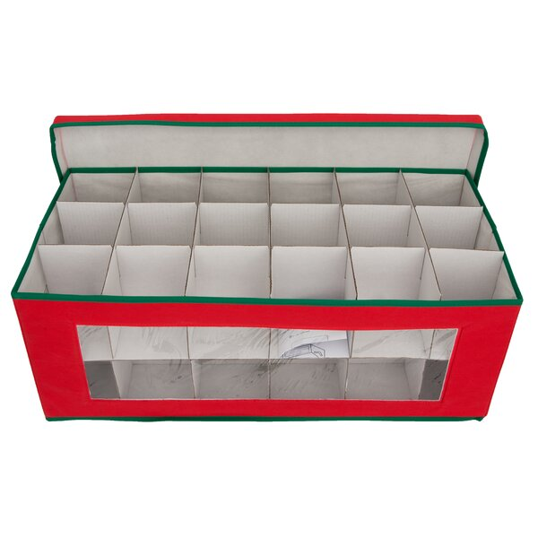 Holiday Ornament Chest by Deluxe Comfort