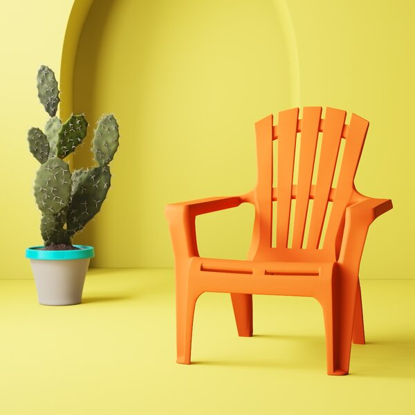 Gracelyn Plastic Adirondack Chair (Set Of 2) By Hashtag Home