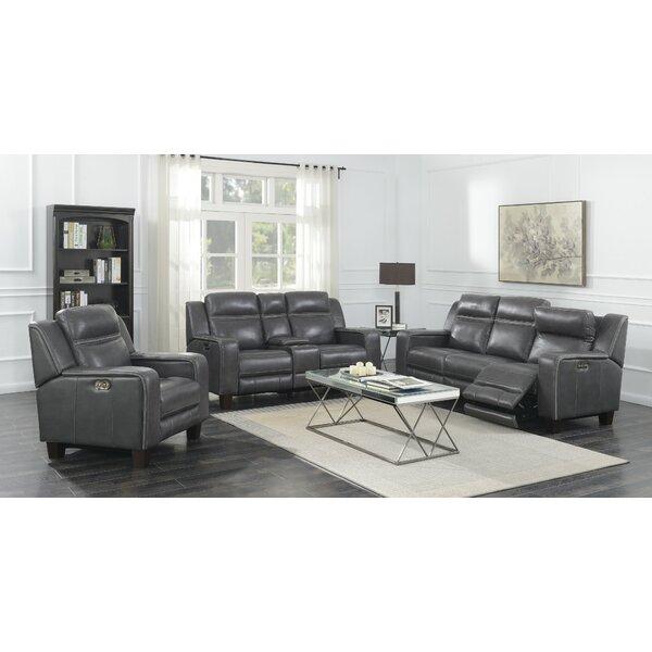 Novice 3 Piece Reclining Living Room Set by Brayden Studio