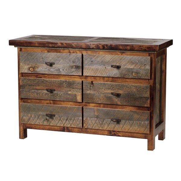 Jaramillo 6 Drawer Double Dresser by Loon Peak