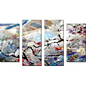 'Faith' by Mark Lawrence 4 Piece Painting Print on Wrapped Canvas Set by Picture Perfect International