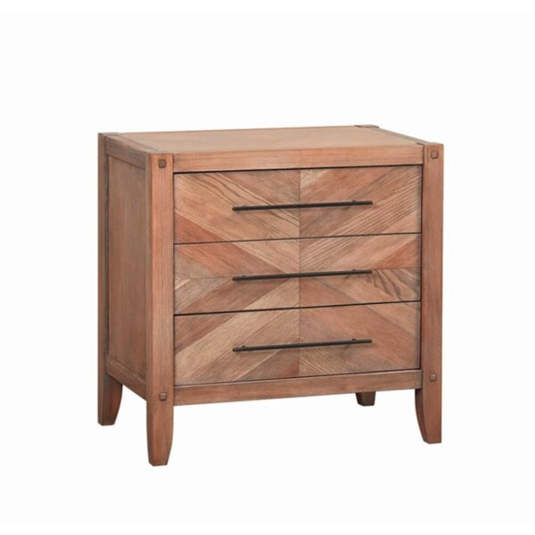 Plainville 3 Drawer Nightstand by Foundry Select