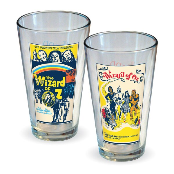 Wizard of Oz Movie Poster Pint 16 oz. Glass by ICUP Inc