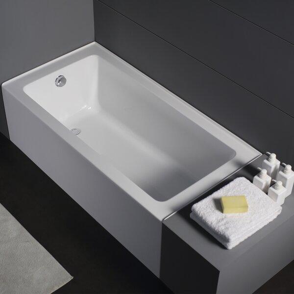 Renovator Zen Alcove Soaking Bathtub by Jade Bath