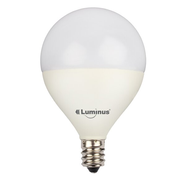 5W E26/Medium LED Light Bulb Pack of 6 (Set of 6) by Luminus