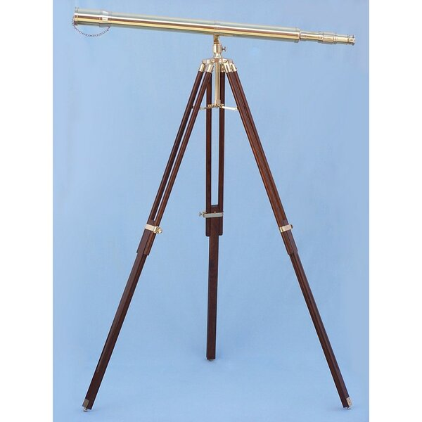 Galileo Stand Refractor Telescope by Handcrafted Nautical Decor