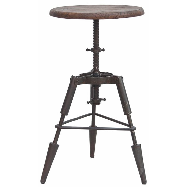 Homewood Adjustable Height Swivel Bar Stool by 17 Stories 17 Stories