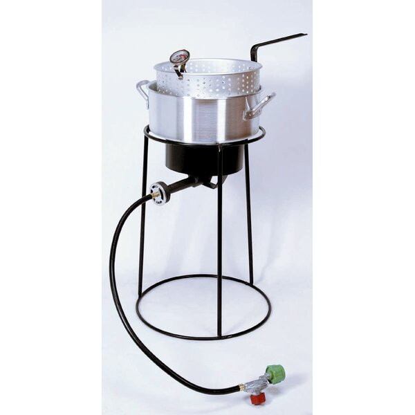 Outdoor Cooker Package with Aluminum Fry Pan by King Kooker