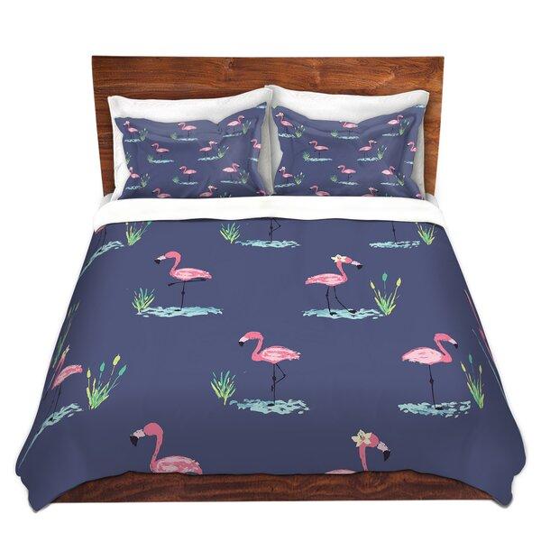 Flamingo II Duvet Cover Set