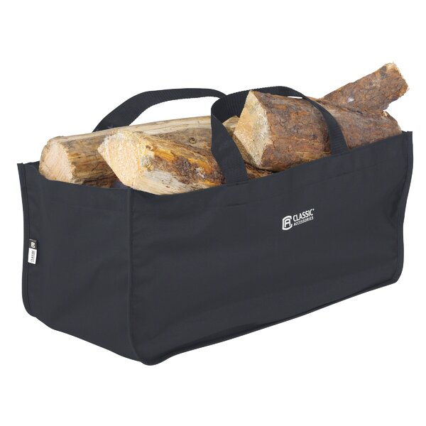 Classic Jumbo Log Carrier by Classic Accessories