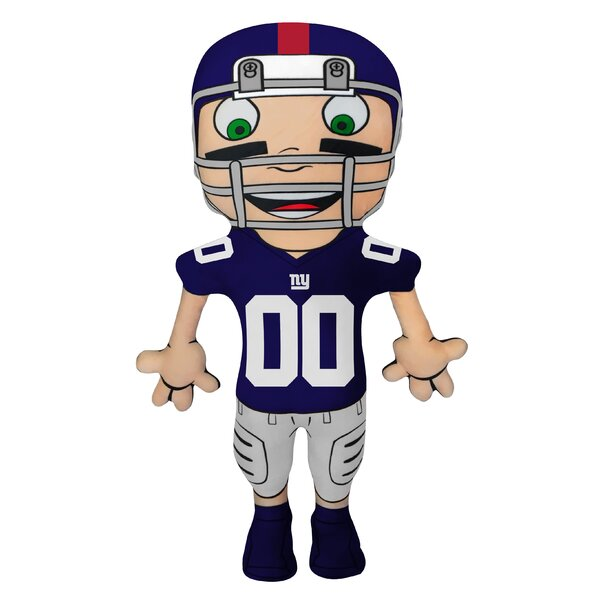 NFL Cloud Pal Character Throw Pillow by Northwest Co.