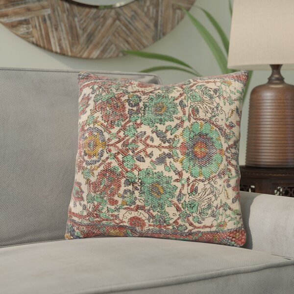 Zaqaria Contemporary Throw Pillow by Bungalow Rose