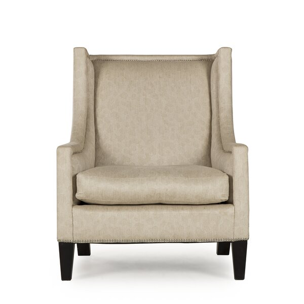 Andrew Martin Austin Wingback Chair by Resource Decor