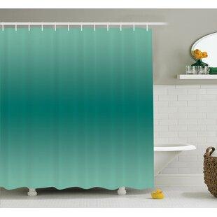 Fabiola Ocean Waves Theme Decor Shower Curtain