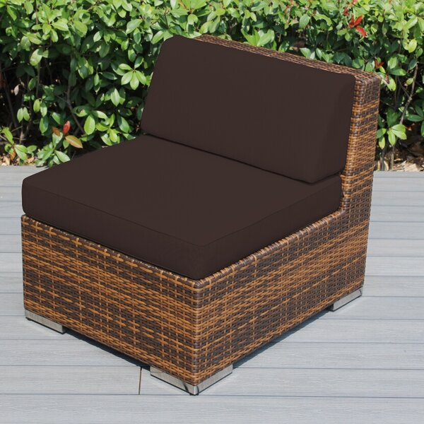 Baril Patio Chair with Cushions by Wade Logan