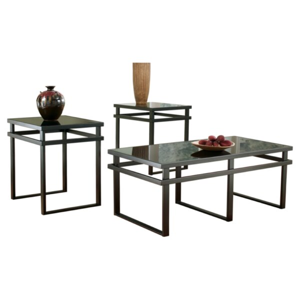 Hailie 3 Piece Coffee Table Set by Signature Design by Ashley