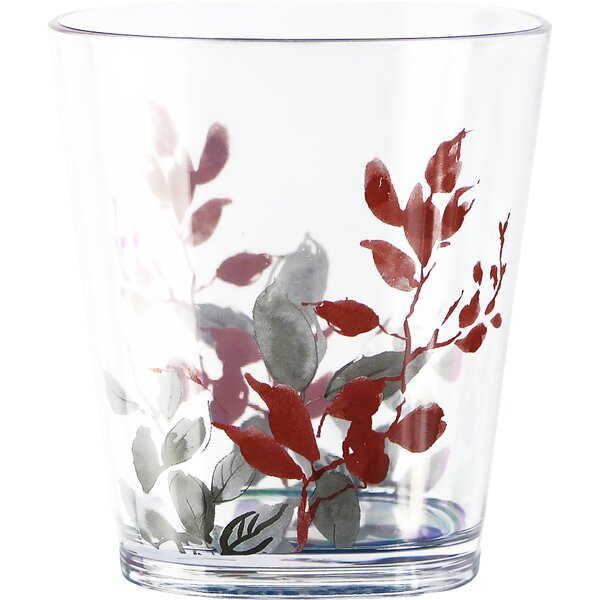 Kyoto Leaves 14 oz. Plastic Tumbler (Set of 6) by Corelle