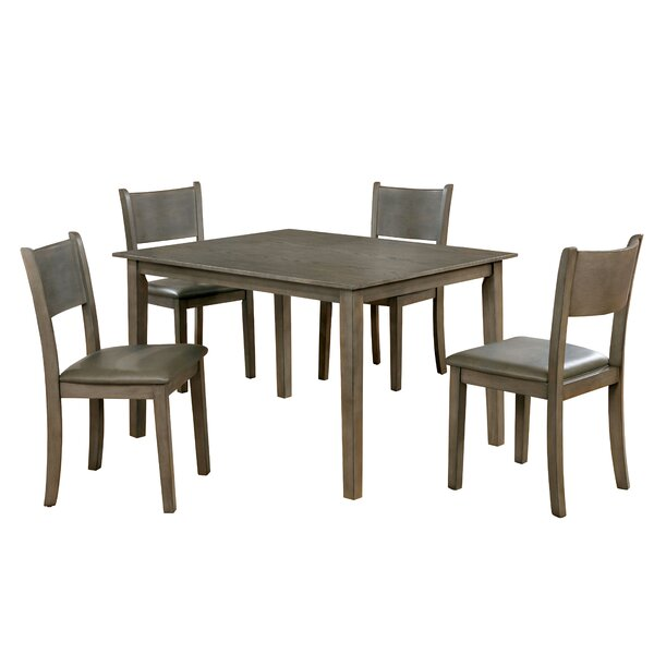 Ryley 5 Piece Dining Set by Millwood Pines