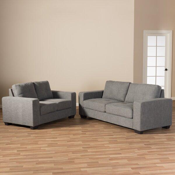 Amherst 2 Piece Living Room Set by Latitude Run
