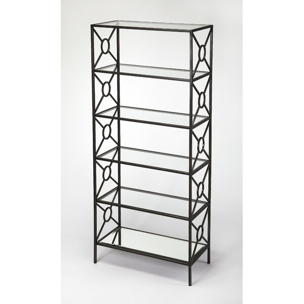 Knaus Metal Etagere Bookcase by Everly Quinn