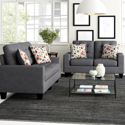 Miraculous Amia 2 Piece Living Room Set Ncnpc Chair Design For Home Ncnpcorg