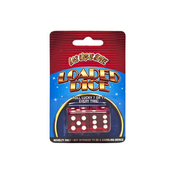 Loaded Dice Set (Set of 2) by Las Vegas Style