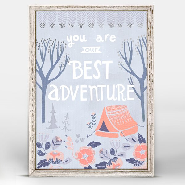 You are Our Best Adventure by Rae Ritchie Mini Canvas Framed Art by Oopsy Daisy