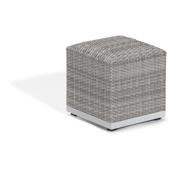 Saleem Outdoor Ottoman by Brayden Studio