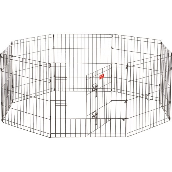 Lucky Dog 8 Panel Hd Dog Pen by Jewett Cameron