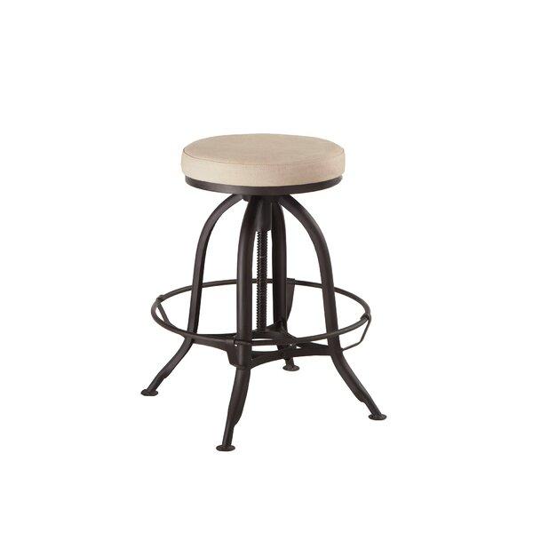 Tackitt Adjustable Height Swivel Bar Stool by Gracie Oaks Gracie Oaks