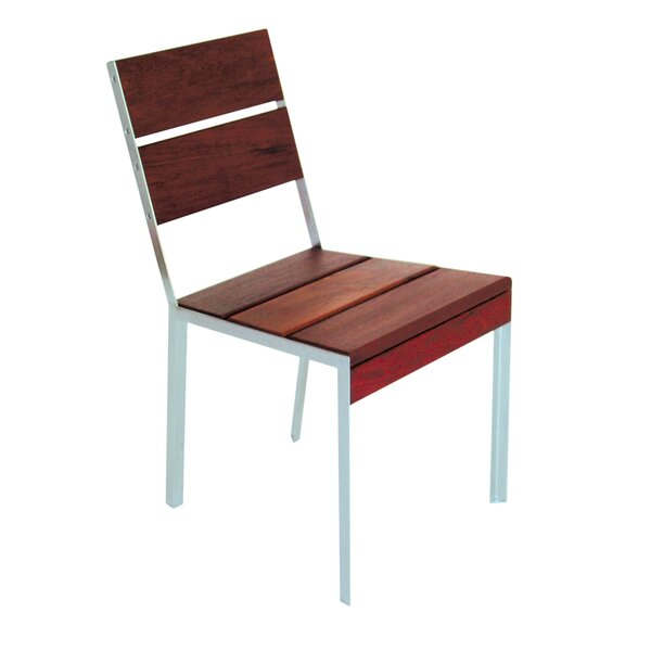 Etra Small Patio Dining Chair with Cushion by Modern Outdoor