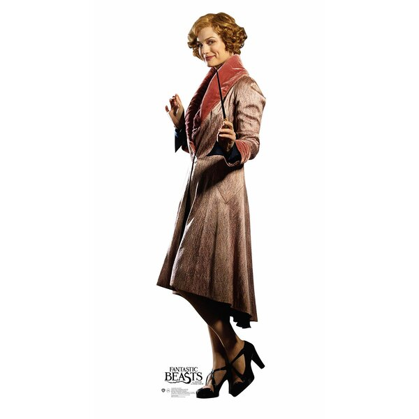 Fantastic Beasts Queenie Goldstein Cardboard Standup by Advanced Graphics