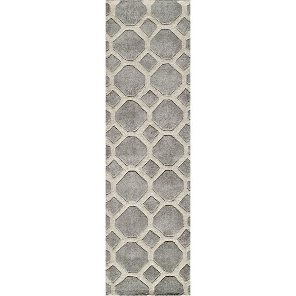 Chance Hand-Tufted Gray Area Rug by Willa Arlo Interiors