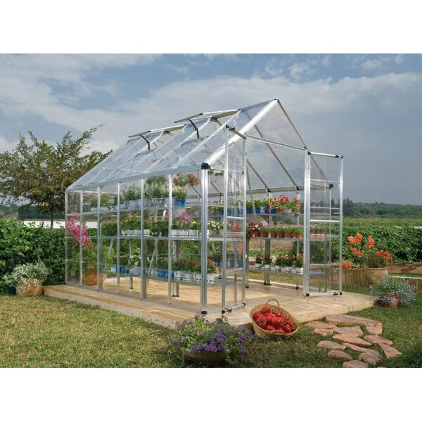 Snap & Grow 8 Ft. W x 12 Ft. D Greenhouse by Palram