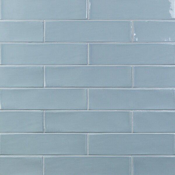 Birmingham 3 x 12 Ceramic Subway Tile in Dew by Splashback Tile