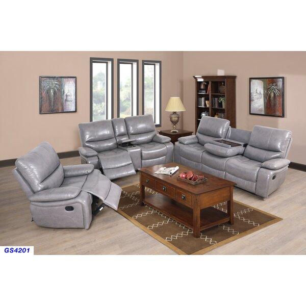 Murguia 3 Piece Reclining Living Room Set by Red Barrel Studio
