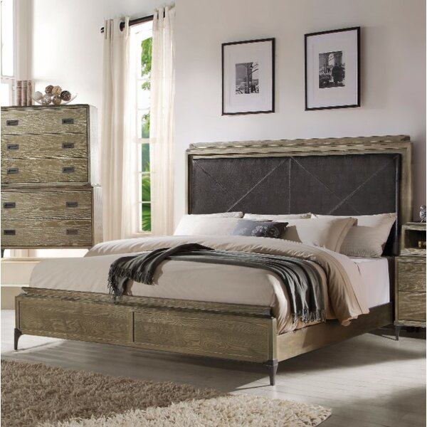 Lembo Deluxe Queen Panel Bed by 17 Stories