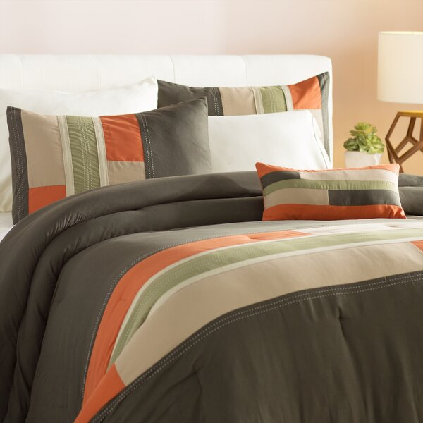 Woltjen Reversible Comforter Set by Ebern Designs