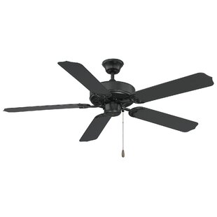 black outdoor ceiling fans with lights low profile 52 outdoor ceiling fans youll love wayfair