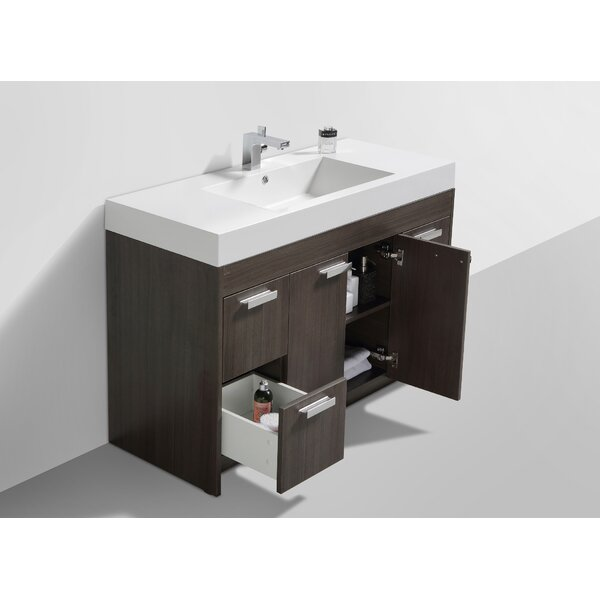 Zuzanna 48 Single Bathroom Vanity Set by Orren Ell
