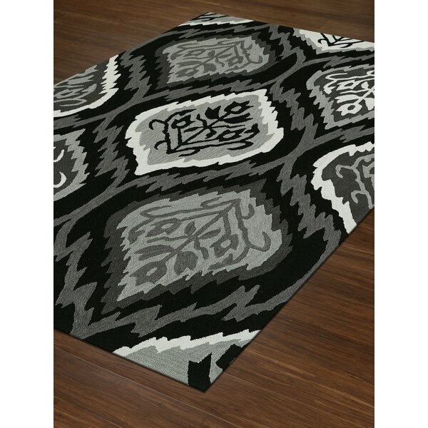Aloft Black/Gray Area Rug by Dalyn Rug Co.
