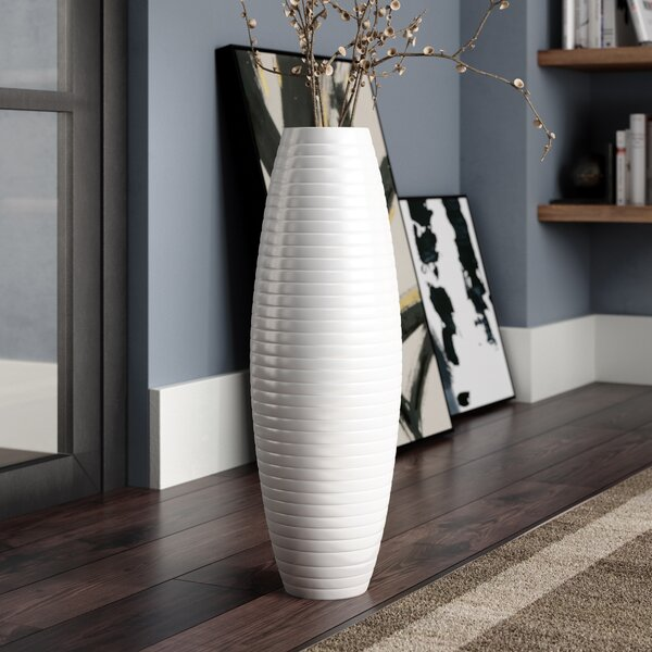 Stinchcomb Ceramic Floor Vase by Orren Ellis