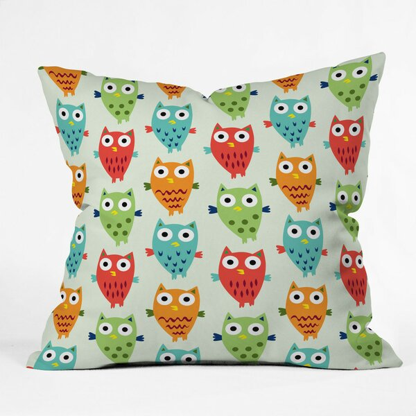 Andi Bird Throw Pillow by Deny Designs